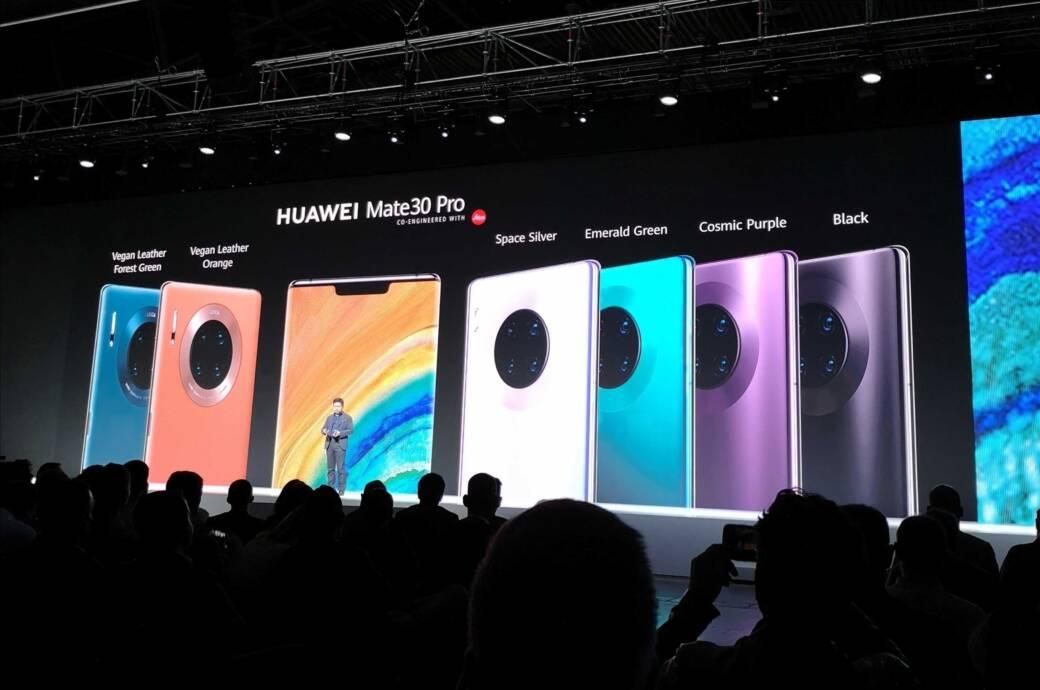 Huawei Mate 30 Pro in allen Farben