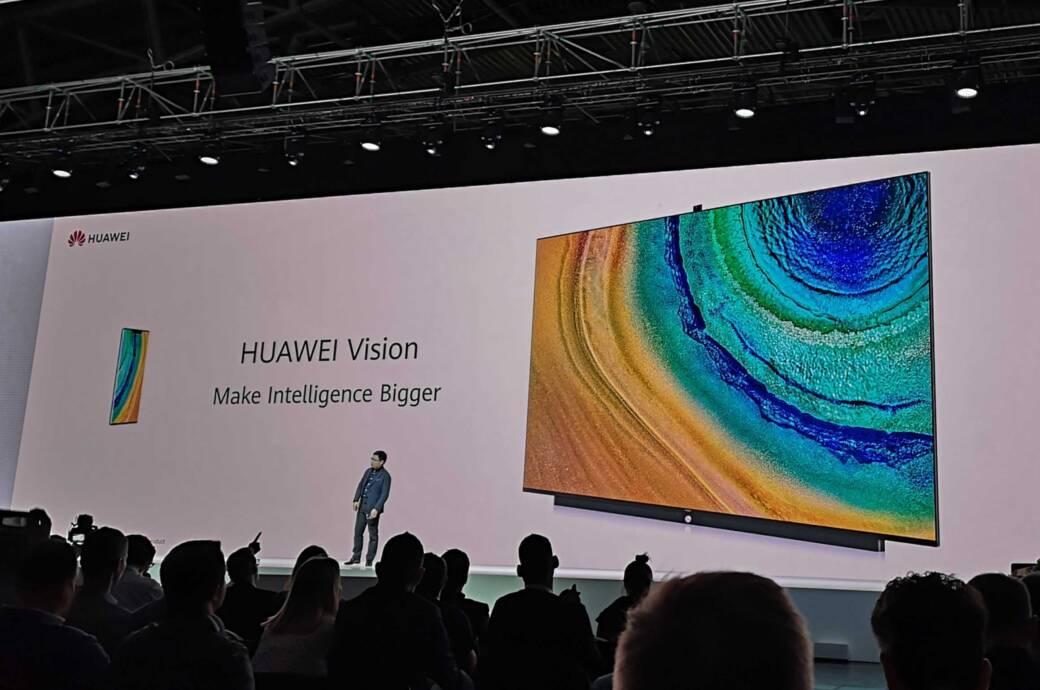 Huawei stellt in München den Smart TV Huawei Vision vor