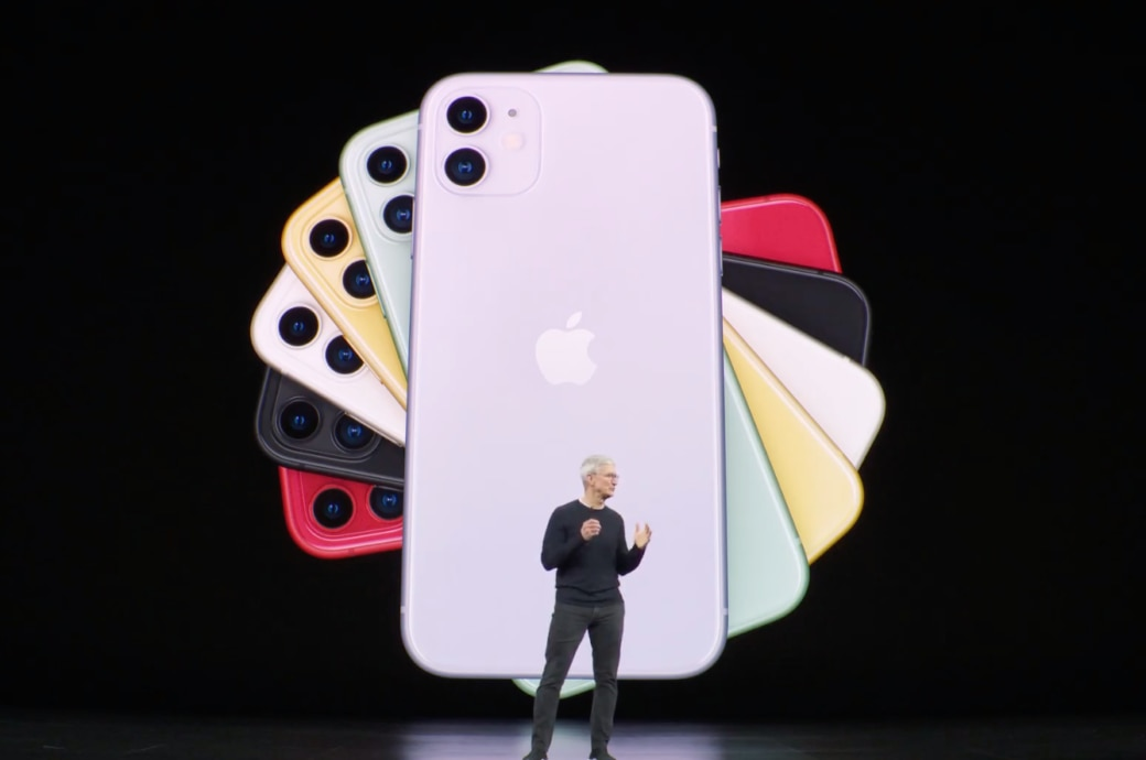 iPhone 11 in neuen Farben