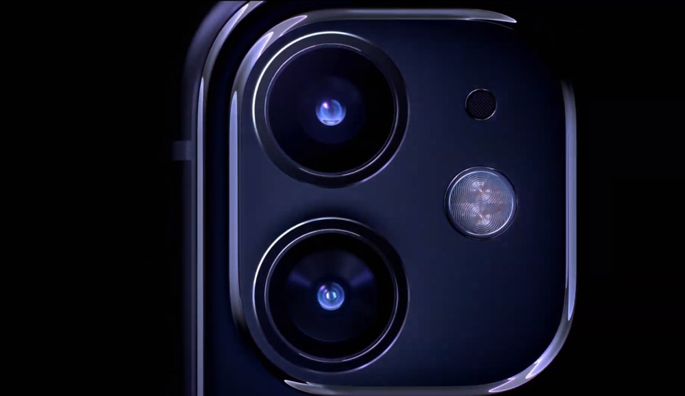 Dual-Kamera des iPhone 11