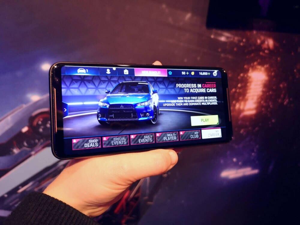 ROG Phone 2 im Gaming-Mode