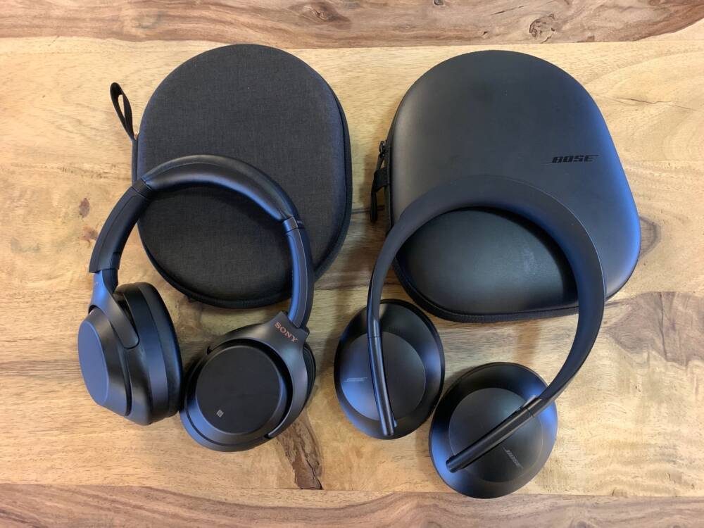 Bose NC 700 und Sony WH-1000XM3