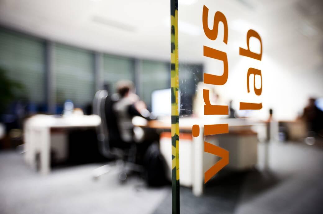 Avast Virus Lab in Prag