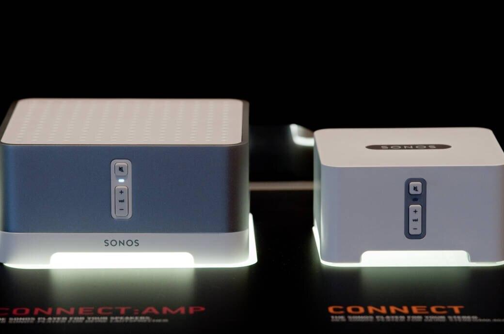 Sonos Connect und Sonos Connect: Amp