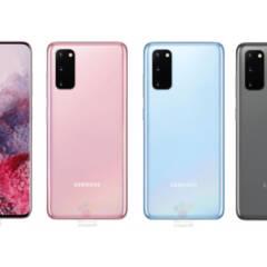 Samsung Galaxy S20 in drei Farben