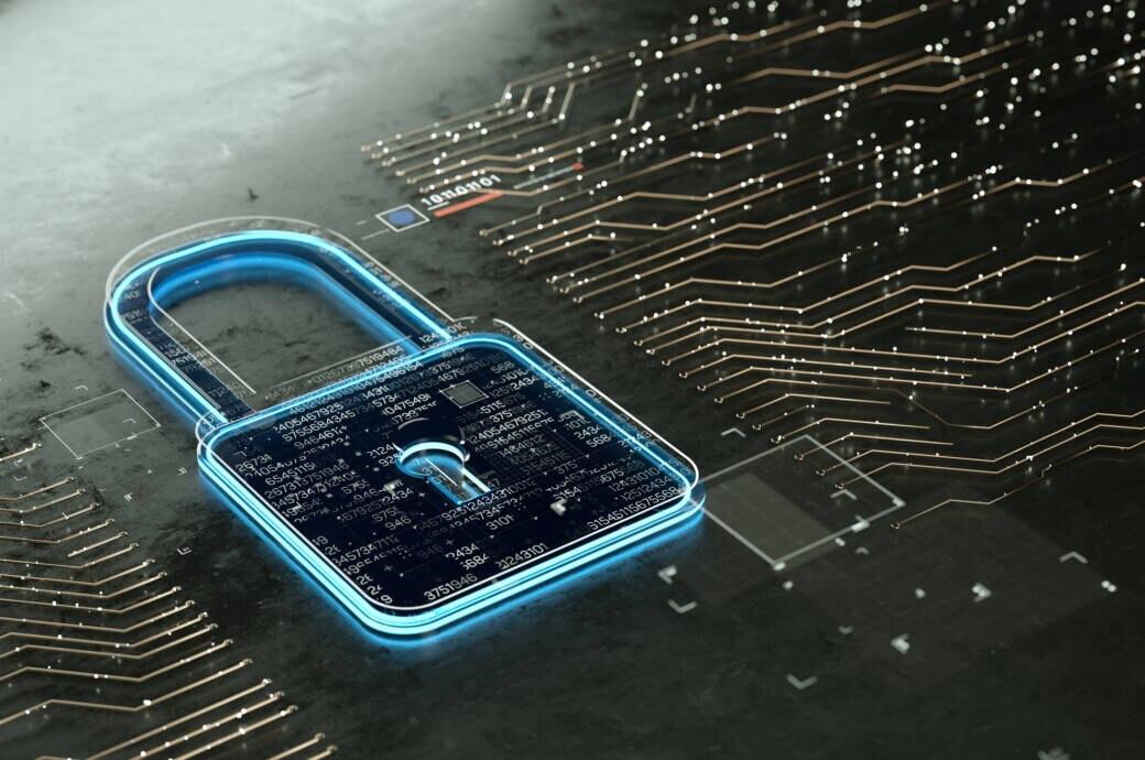 Cyberangriff DKB_ Symbolbild mit Schloss