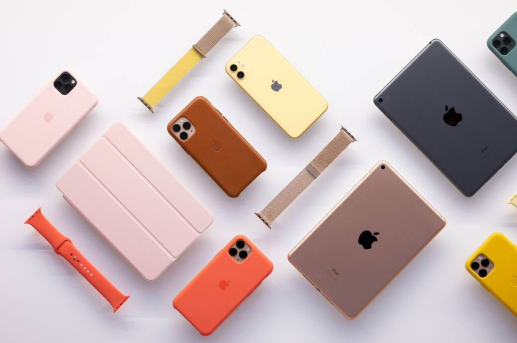 Apple iPhone und iPad in der Auslage