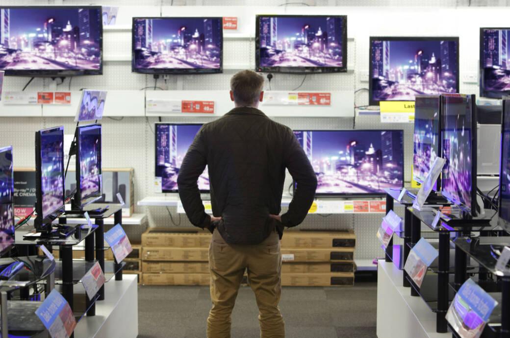 Mann im TV-Geschäft