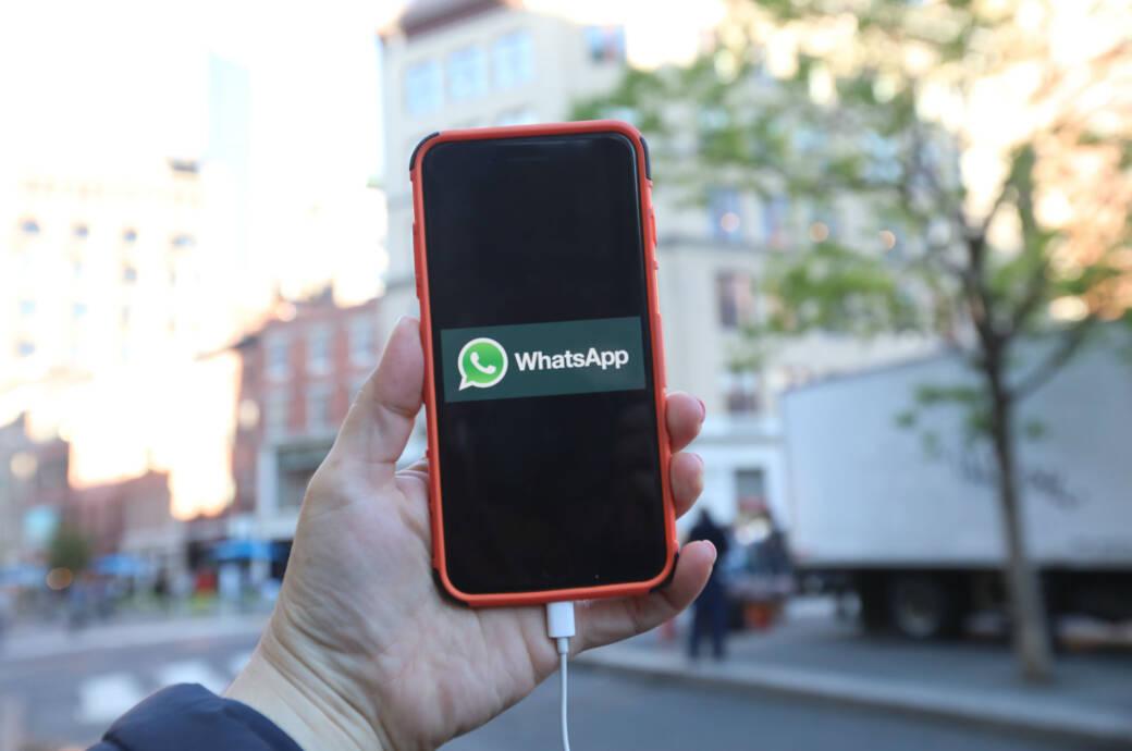 WhatsApp auf dem Handy