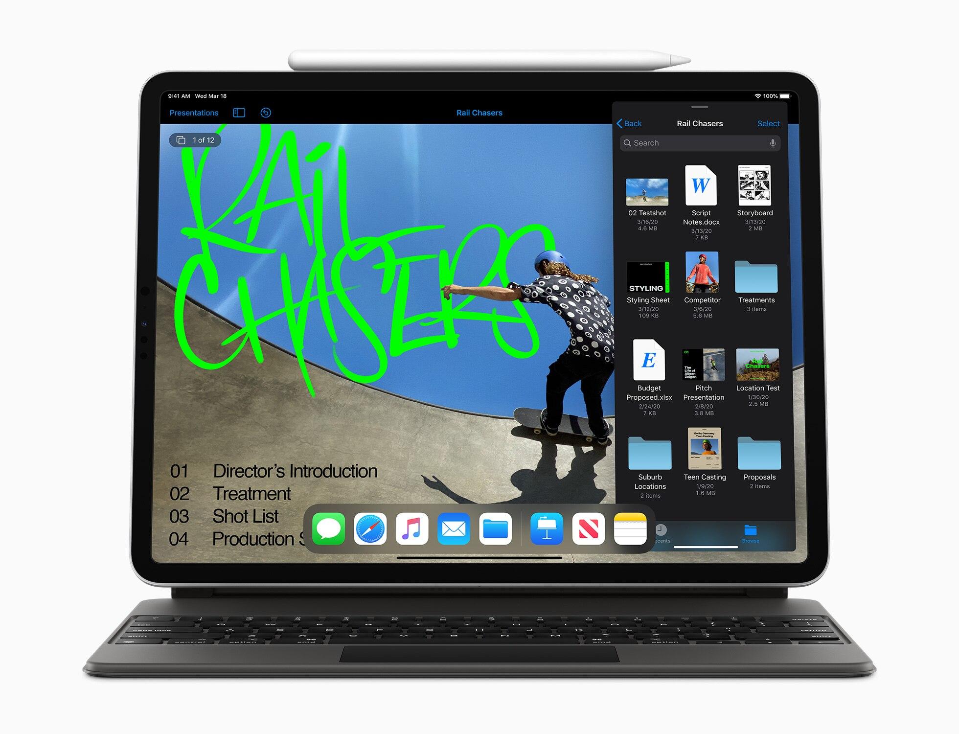 iPad Pro 2020 mit Magic Keyboard und Apple Pencil