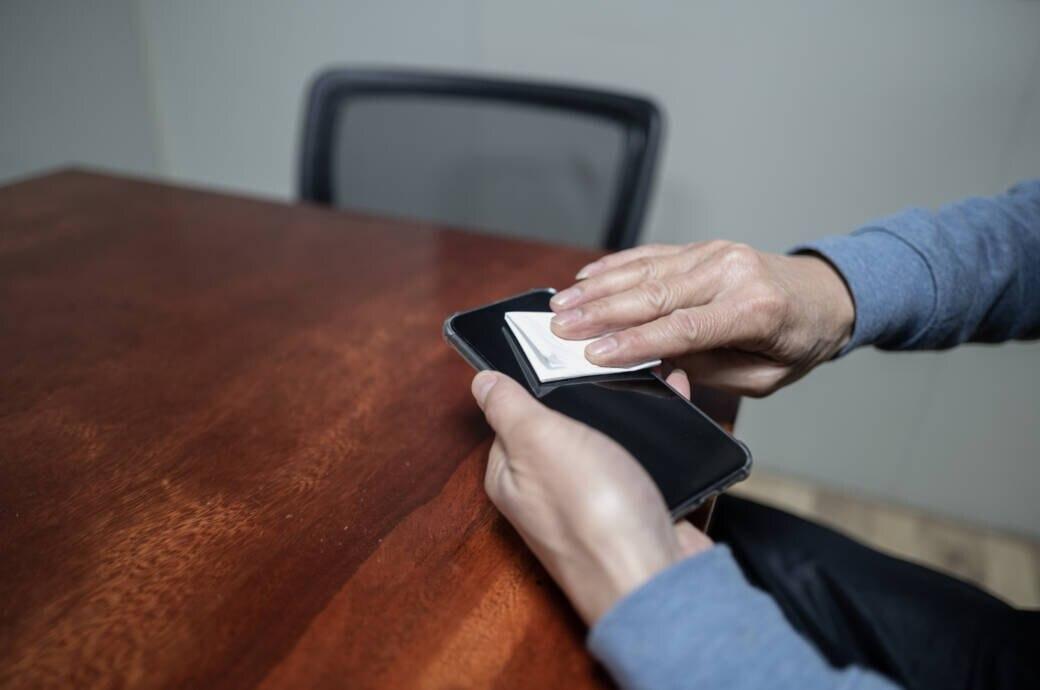 Tipps zur Smartphone-Reinigung