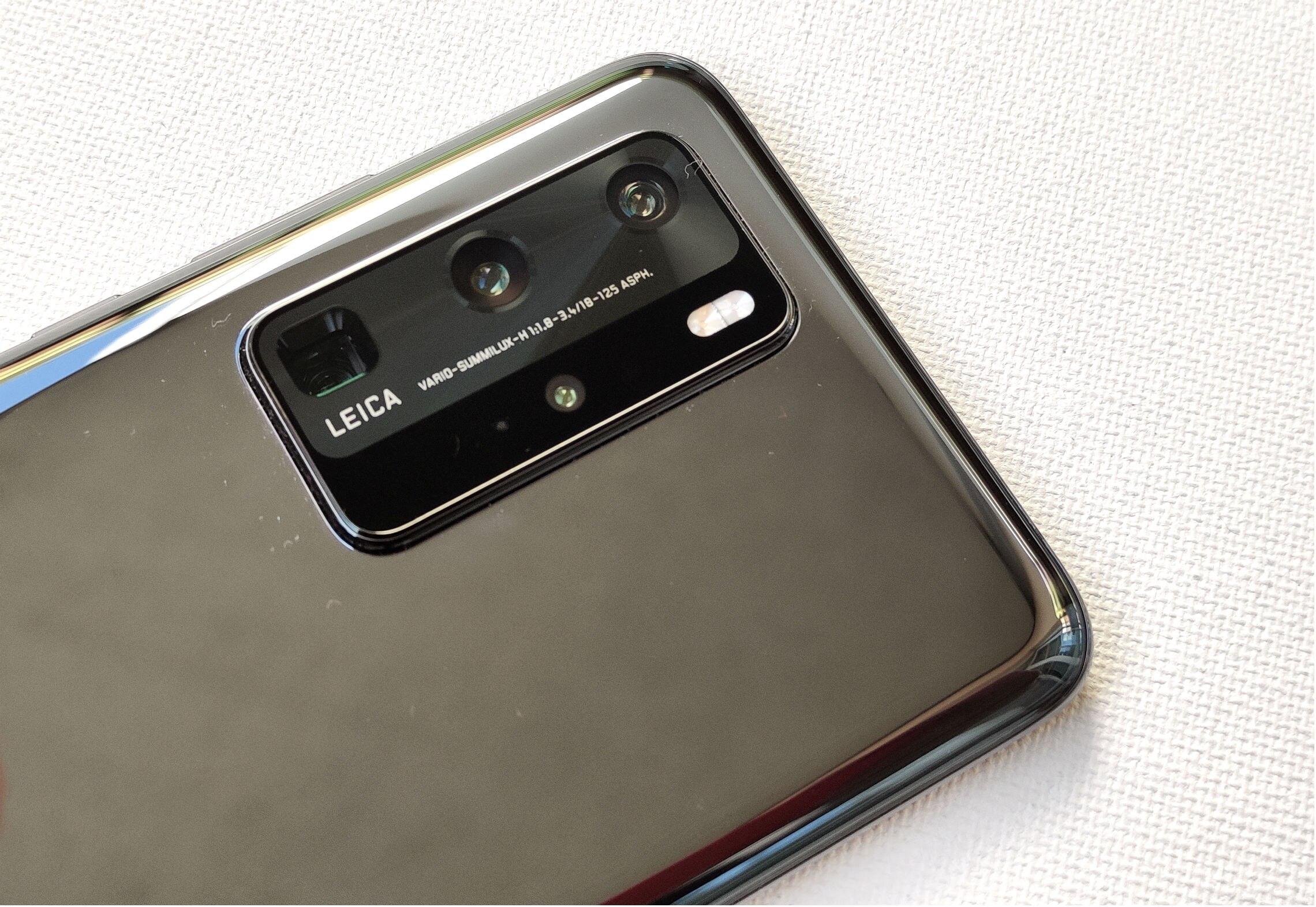 Huawei P40 Pro mit Kamera von Leica