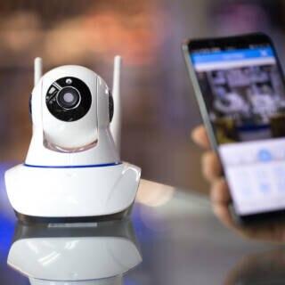 Überwachungskamera mit Handy