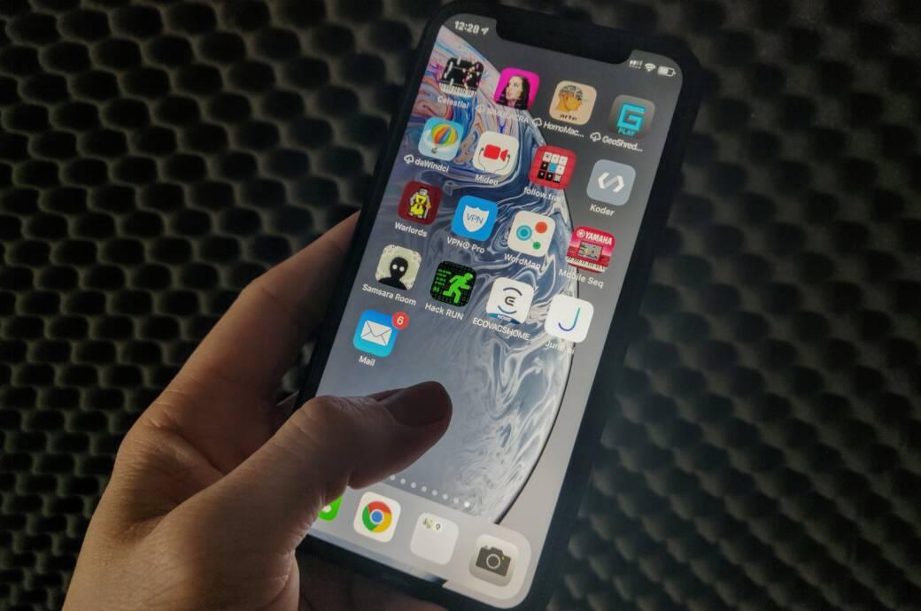 Spiele und Apps auf iPhone