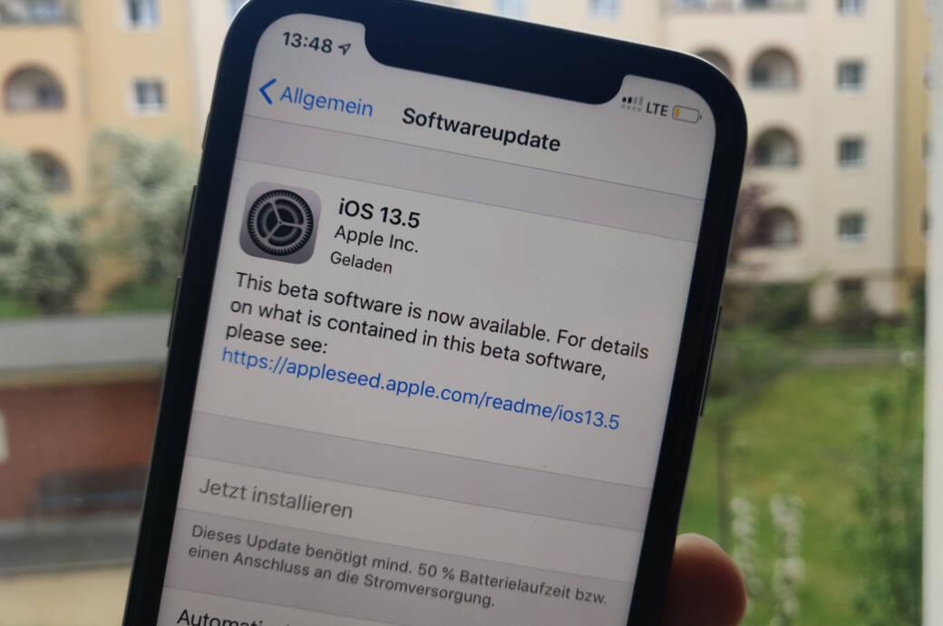 iOS 13.5 – Apple reagiert mit iPhone-Update auf Corona-Krise