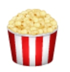WhatsApp Emoji Popcorn