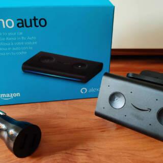 Amazon Echo Auto mit Zubehör