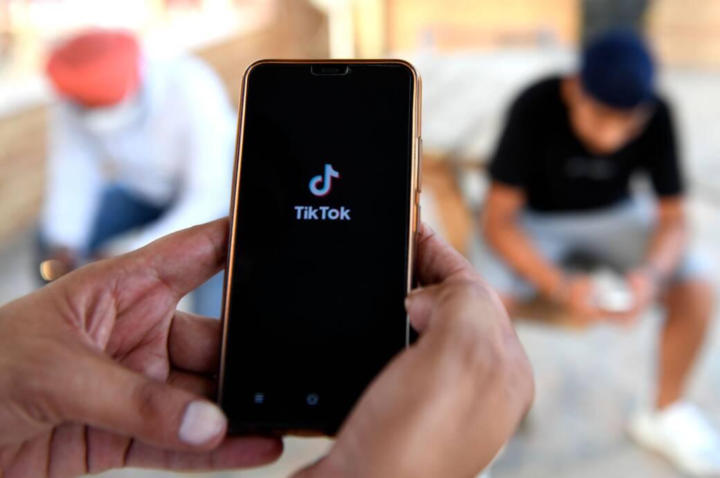 TikTok auf dem Smartphone