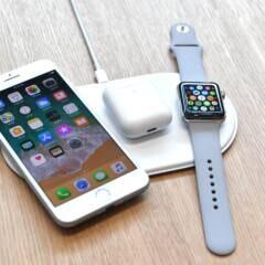 Apple AirPower mit iPhone, AirPods und Apple Watch