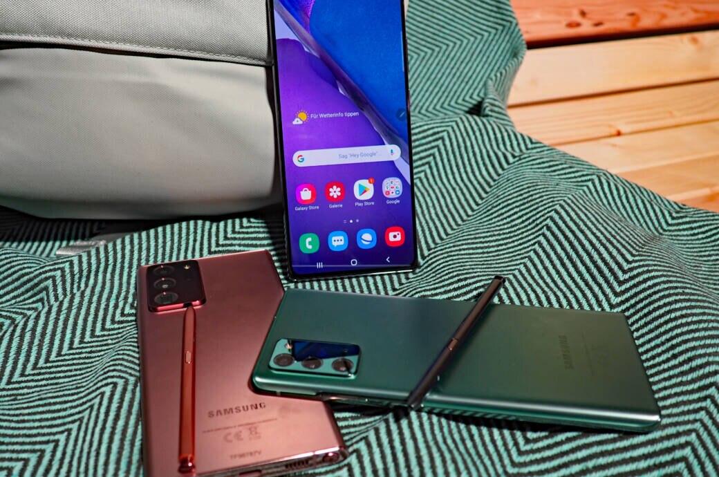 Galaxy Note 20 (Ultra) im Hands-On – warum so teuer, Samsung?