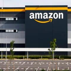 Amazon-Logistikzentrum in Frankreich