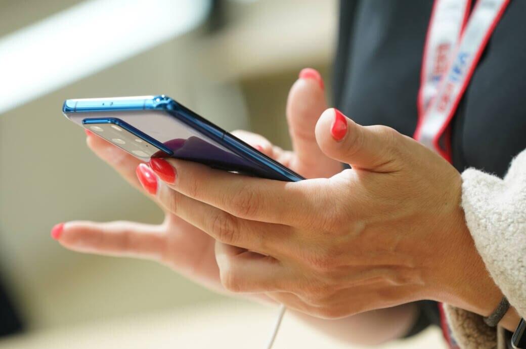 Smartphone auf der IFA 2020