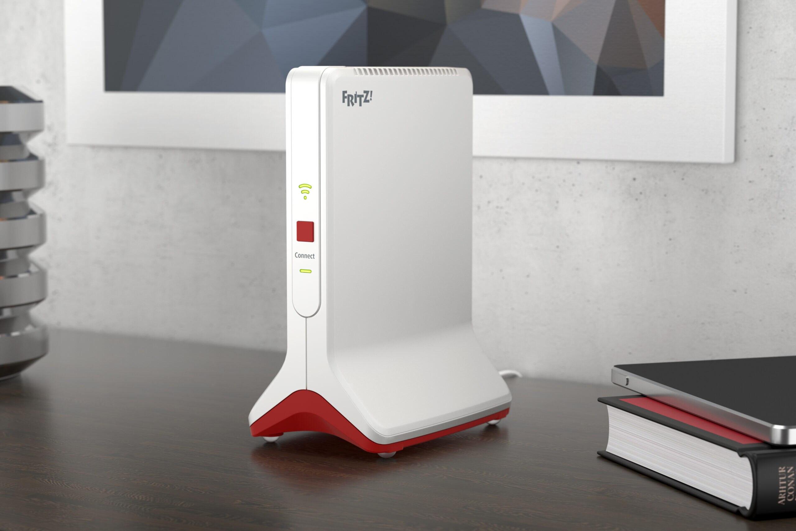 FritzRepeater 20 Erster WLAN Repeater mit Wifi 20 von AVM