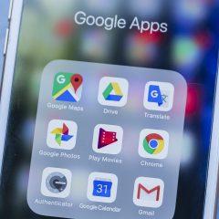Google-Apps auf dem Smartphone